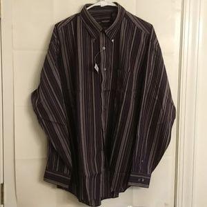 Van Heusen Men's Casual Shirt Size L 16 16 1/2